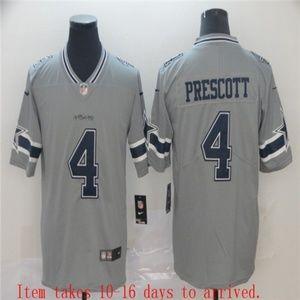 Men Dallas Cowboys #4 Dak Prescott Jersey